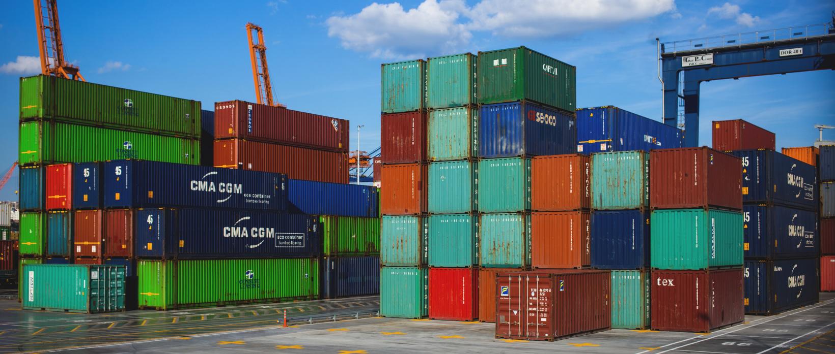 Container, Parole Importate